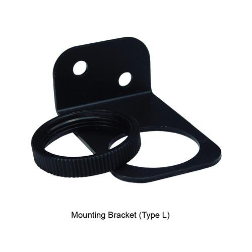 Dixon Wilkerson Regulator Mounting Bracket (Type L) and Nut Used on R00, RB3 - Mounting Bracket and Nut - Type L - R00, RB3