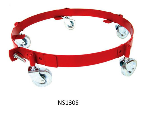 National Spencer 30 Gallon Drum Dolly with Steel Casters