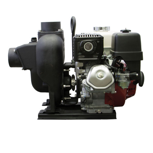 Banjo 3 in. Gas Engine Transfer Pumps with Viton Seals - Honda 8 HP Electric Start, 345 GPM