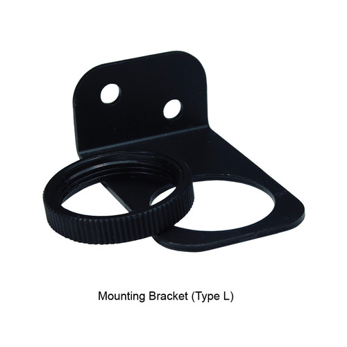 Dixon Wilkerson Regulator Mounting Bracket (Type L) and Nut Used on R08 - Mounting Bracket and Nut - Type L - R08