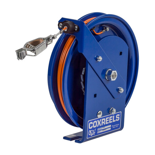Coxreels SD-100 Static Discharge Spring Driven Cable Reel w/ 100 ft. Cable