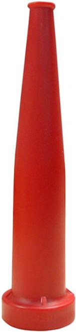 Dixon 1 1/2 in NH (NST) Red Polycarbonate Plain Hose Nozzles