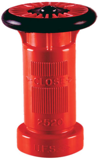 United Fire Safety 1 1/2 in. NYFD Industrial Hose Nozzle