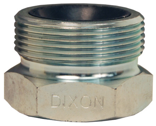 Dixon GJ Boss Ground Joint Seal Female Spud - 1 in. Male Wing Nut Thread x Female NPT