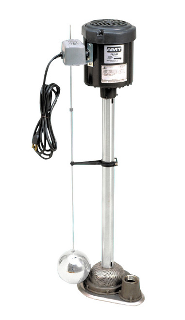 AMT Industrial/Commercial Sump Pump - 55 GPM - 29 in. - Stainless Steel