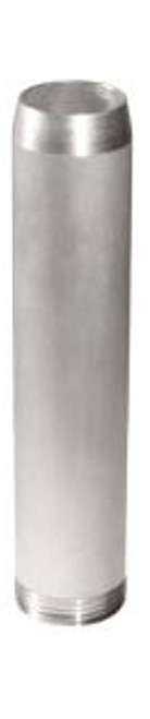 Aluminum Threaded Nozzle Tubes - 1-1/4 in. NPT - 1-5/16 in. in. - Aluminum