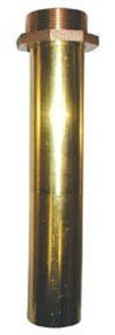 1 1/4 in. Brass Threaded Nozzle Tube