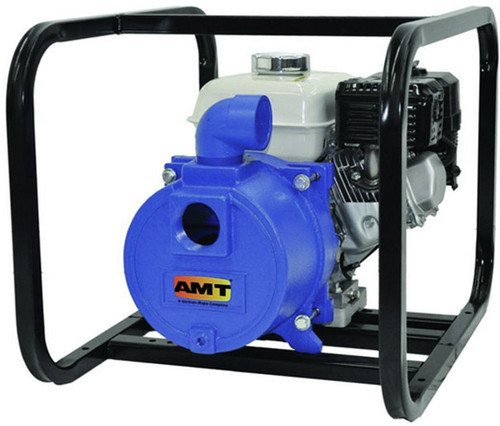 AMT/Gorman Rupp 2 in. Cast Iron Engine Driven Trash Pump - 185 GPM - 2 in. NPT - Honda 5HP