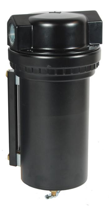 Dixon Series 1 F17 3/4 in. Jumbo Filter with Metal Bowl & Sight Glass - Manual Drain
