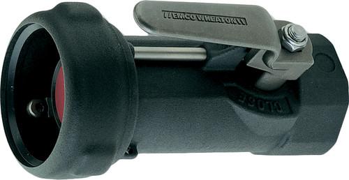 Emco Wheaton 2 in. Female NPT Dry-Break Straight Coupler w/ Viton Seals