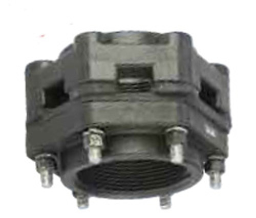 Banjo Poly 3 in. x 3 in. Threaded Bolted Bottom Drain Tank Flange w/ EPDM Seal
