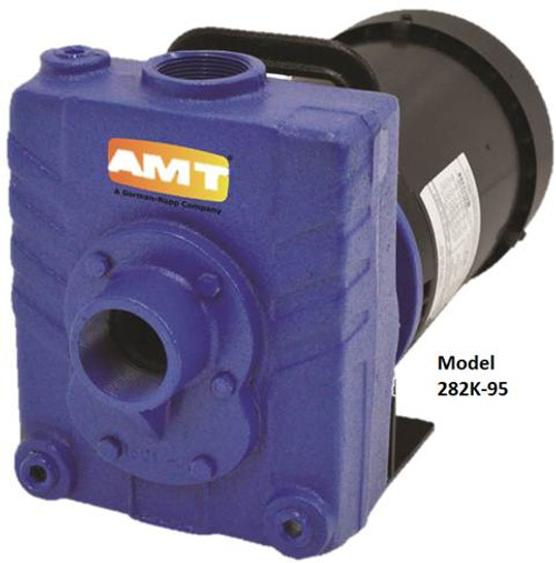 AMT 282M95 1 1/2 in. Cast Iron Self-Priming Centrifugal Pump