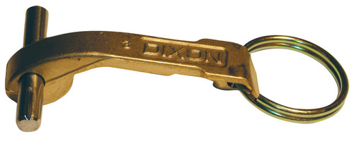 Dixon 3 in. - 5 in. Brass Replacement Cam Arm, Ring, & Pin
