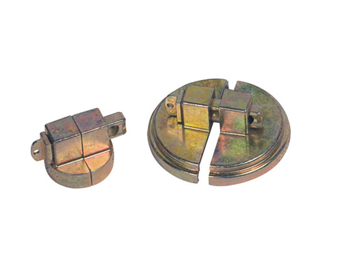 Justrite Drum Lock - Steel Drum Set - Steel drum set - 1 unit to fit 2 in. NPT bung