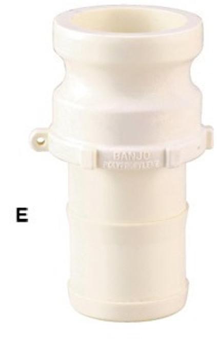 Banjo 2 in. FDA Male Adapter x Hose Shank - Part E