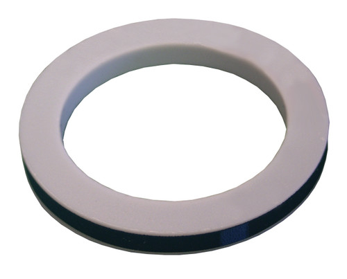 Dixon 2 in. PTFE (TFE) Envelope w/ Nitrile Rubber Filler Cam & Groove Gasket (White / Black)
