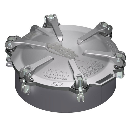 Betts 20 in. Aluminum Cam-Latch Manholes w/ Zinc Plated Steel Hardware