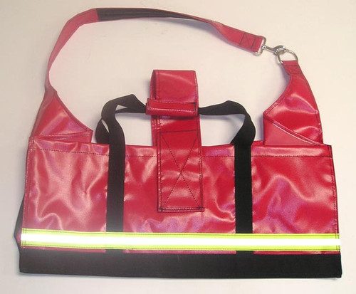 343 Fire HP-300 High Rise Carry Pack, Red