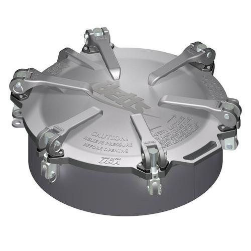Betts 20 in. Aluminum Cam-Latch Manholes w/ Steel Weld Collar & Zinc Plated Hardware