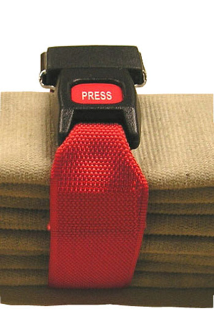 343 Fire 2 in. Heavy Duty Hose Straps - Set of 3