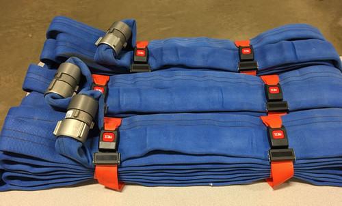 343 Fire HS-O-Set 2 in.W  Heavy Duty Hose Straps - Set of 3