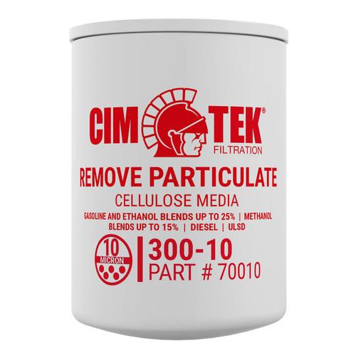 Cim-Tek 70010 10 Micron Particulate Fuel Dispenser Filter (300-10)