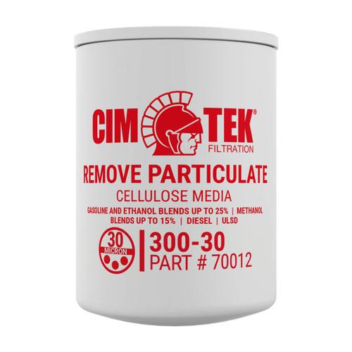Cim-Tek 70012 30 Micron Particulate Fuel Dispenser Filter (300-30)