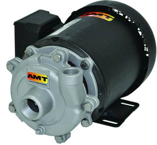 AMT/Gorman Rupp Cast Iron Centrifugal Self Priming Sprinkler Booster Pumps - A - 1 - 230/460 - 3 PH - 50 - 1 1/2 in.