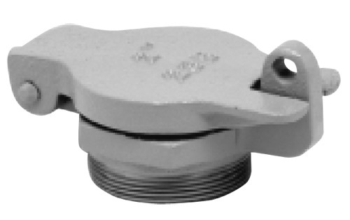 Clay & Bailey 235 Series 2 1/2 in. Male NPT Cast Iron Fill Cap