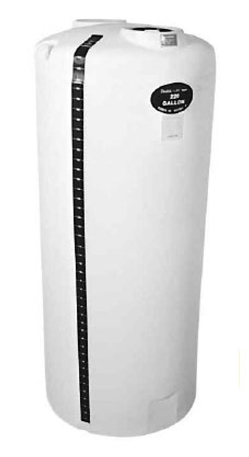 Centennial Molding 300 Gal Poly Vertical Storage Tank - 43 in. Dia / 59 in. H