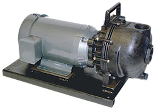Banjo 2 in. Polypropylene Centrifugal Pumps w/ EPDM Elastomers - 5 HP Single Phase