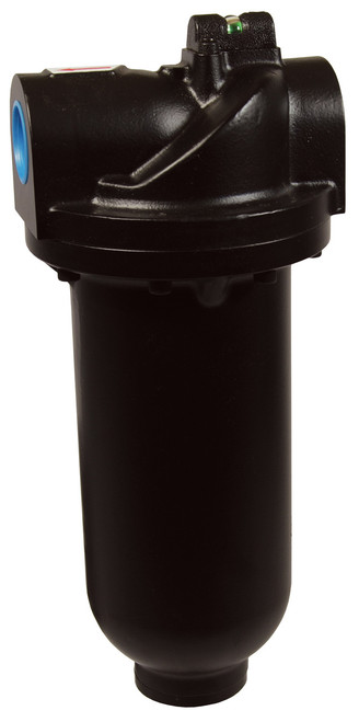 Dixon Wilkerson 1 1/2 in. F35 Heavy Duty Jumbo Filter with Metal Bowl - Auto Drain