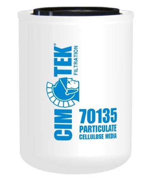 Cim-Tek 70135 Industrial Spin-On Filter - Cellulose Resin-Impregnated - Cellulose Resin-Impregnated Media