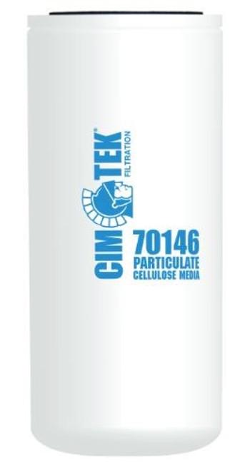 Cim-Tek 70146 Industrial Spin-On Filter - Cellulose Resin-Impregnated - Extended Length