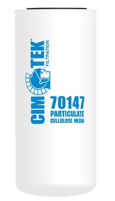 Cim-Tek 70147 Industrial Spin-On Filter - Cellulose Resin-Impregnated - Extended Length