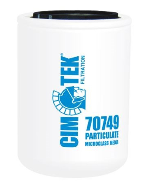 Cim-Tek 70749 Industrial Spin-On Filter - Microglass - High Performance Microglass Media
