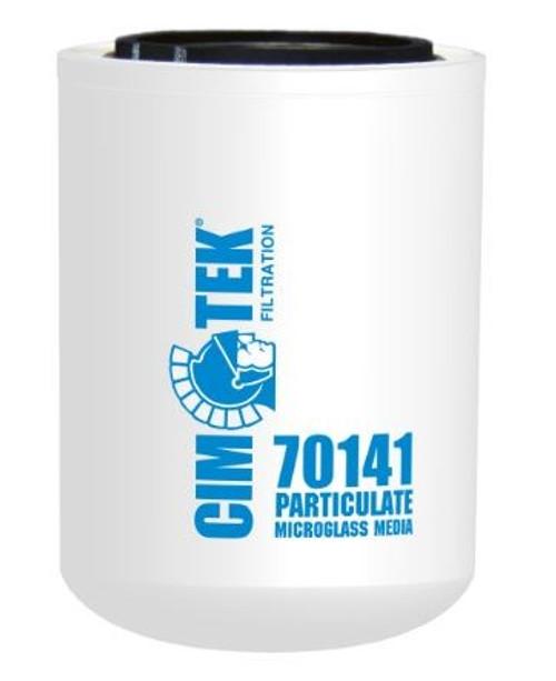 Cim-Tek 70141 Industrial Spin-On Filter - Microglass - High Performance Microglass Media