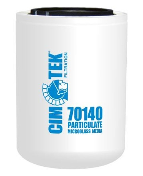 Cim-Tek 70140 Industrial Spin-On Filter - Microglass - High Performance Microglass Media
