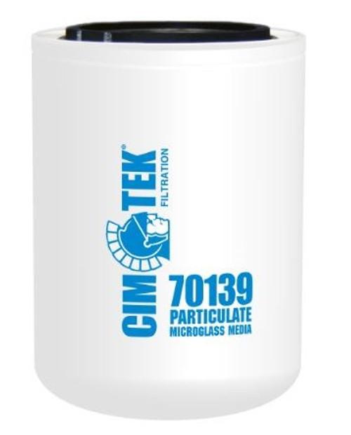 Cim-Tek 70139 Industrial Spin-On Filter - Microglass - High Performance Microglass Media