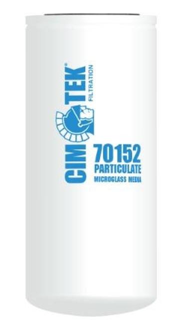 Cim-Tek 70152 Industrial Spin-On Filter - Microglass - High Performance Microglass Media