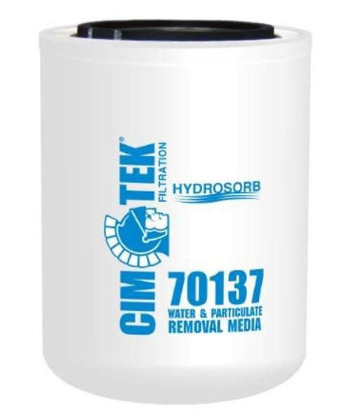 Cim-Tek 70137 Industrial Spin-On Filter - Hydrosorb Water-Removal Media