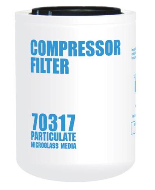 Cim-Tek 70317 Replacement Compressor Spin-On Filter - Microglass