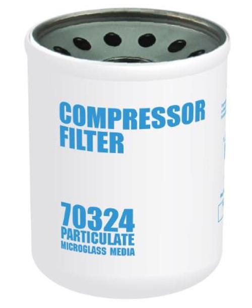 Cim-Tek 70324 Replacement Compressor Spin-On Filter - Microglass