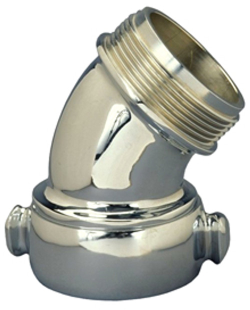 45º Chromed Brass Angle And Suction Elbow