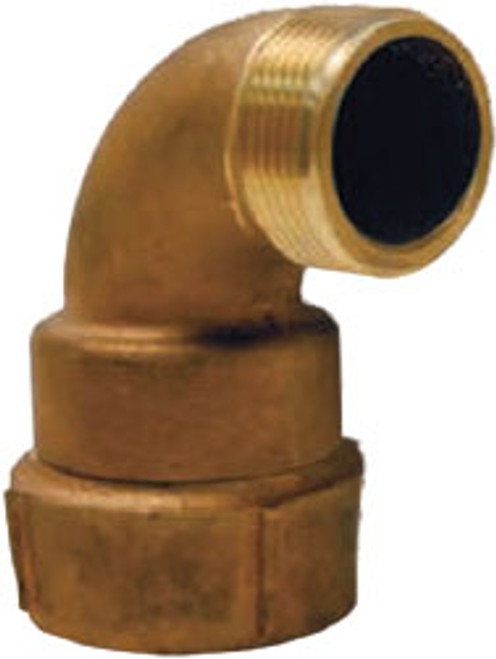 Dixon 1 1/2 in. Female NPT x 1 1/2 in. Male NST Continuous Swivel Elbow