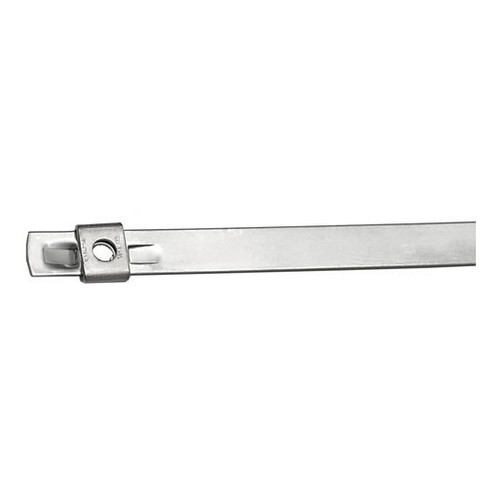BAND-IT Tie-Lok 1/4 in. W x 6 in. Dia. 316 Stainless Steel Cable Ties - 100/Box