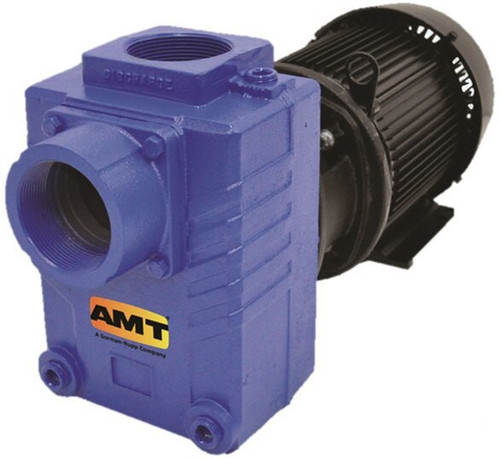 AMT 287495 3 in. Cast Iron Self-Priming Centrifugal Pump