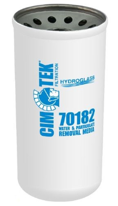 Cim-Tek 40 Series Spin-on Filter - Hydroglass Water-Removal Media - 70182
