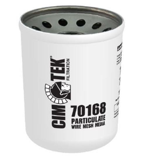 Cim-Tek 40 Series Spin-on Filter - Wire Mesh Media 144 Micron - 70168