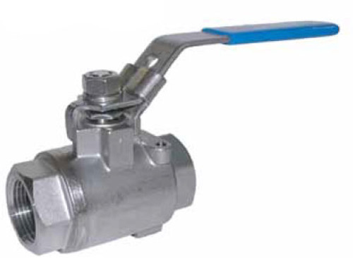 Chem Oil Products 1 in. NPT 2000 WOG 2-Piece 316 Stainless Steel NACE Ball Valves - Full Port